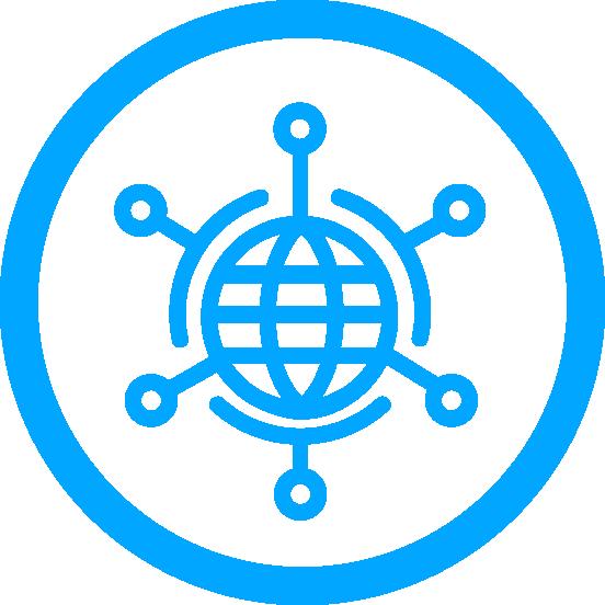 Data Services circle icon