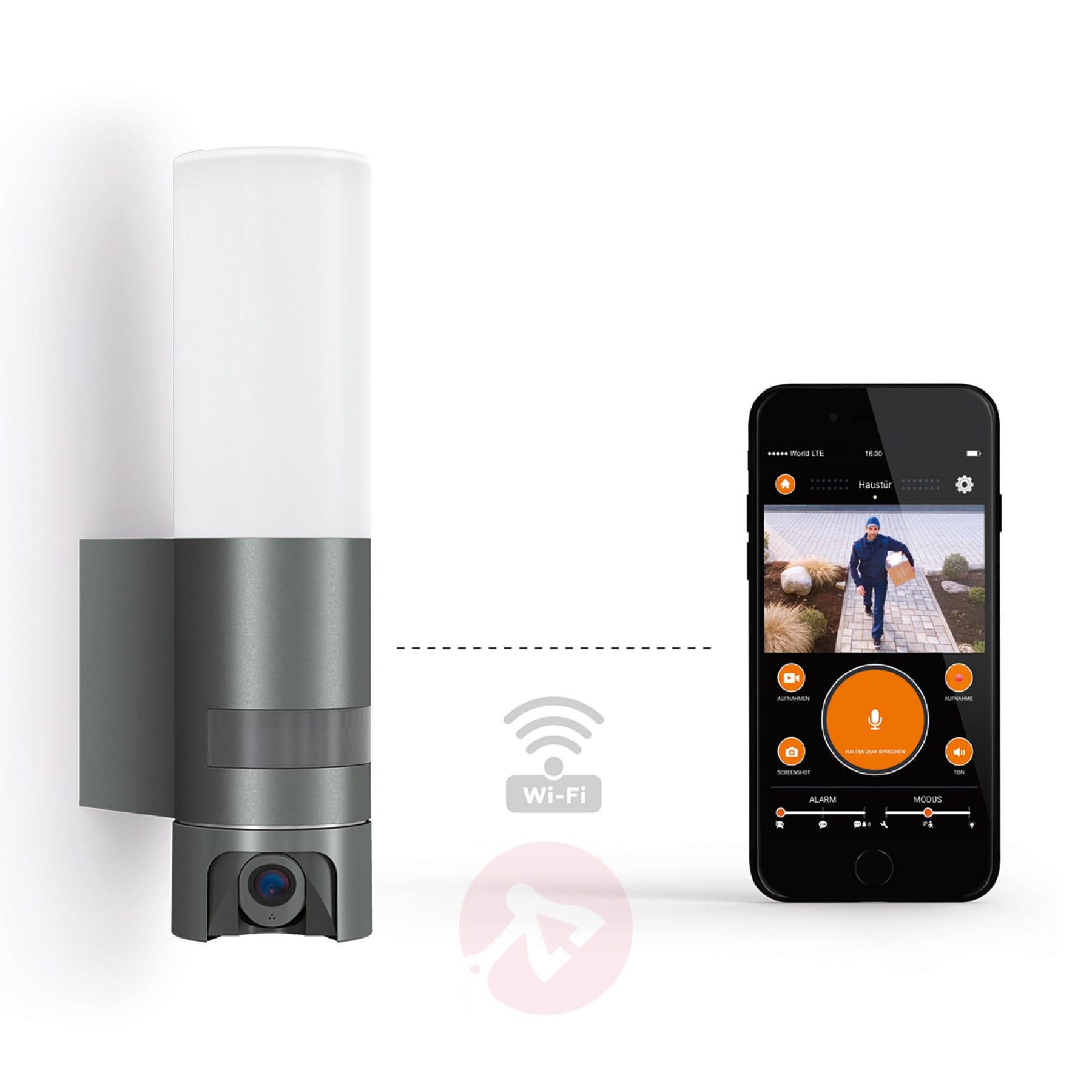 intelligent sensor led outdoor wall light cam