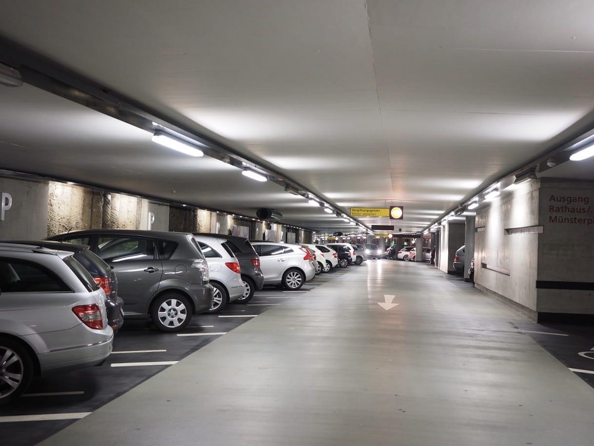 Car park security cameras